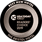 USA Today 2019 Reader's Choice Best New Hotel