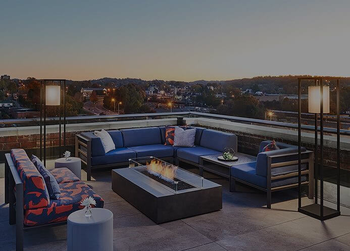 Lumac's rooftop
